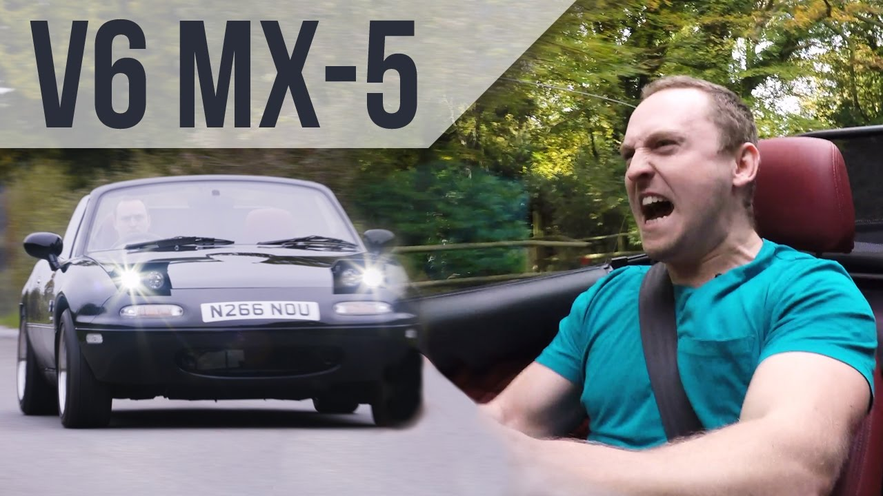 You Can Buy a Swap Kit to Put a Jaguar V-6 in Your Mazda Miata - The