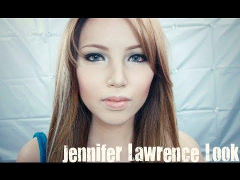 Asian makeup jennifer lawrence