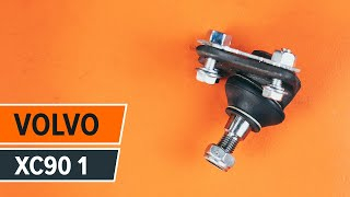 Jak vyměnit přední kulový čep na VOLVO XC90 1 [NÁVOD]