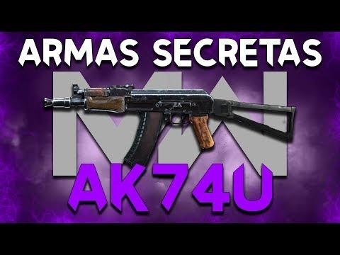 as-armas-secretas-do-modern-warfare-#03:-ak74u!