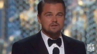 Leonardo DiCaprio's speech