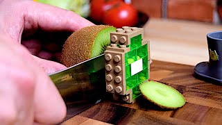 Lego Breakfast - Lego In Real Life 5  Stop Motion Cooking &amp ASMR