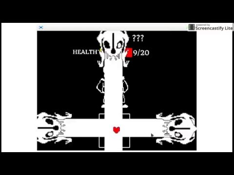 An Undertale Sans Fight I made on scratch