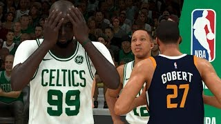 NBA 2K20 Tacko Fall My Career - UNBELIEVABLE Career Night for Tacko Fall!
