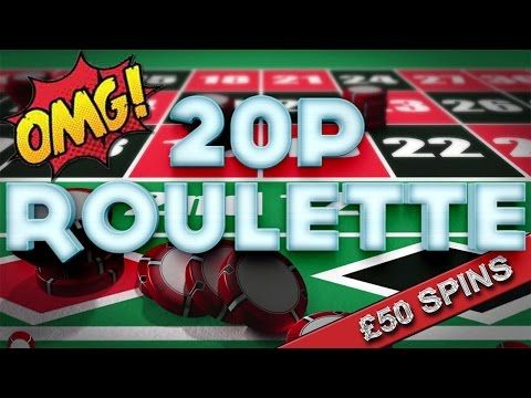 FOBT Gambling 20p Roulette £50 Spins