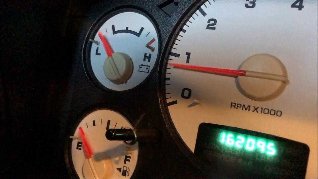 Dodge read check engine light without a code reader or scanner tool