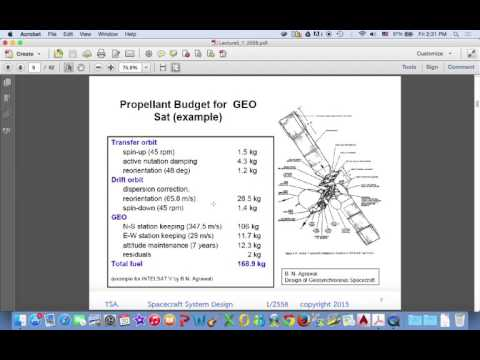 Space System Design Last Lecture