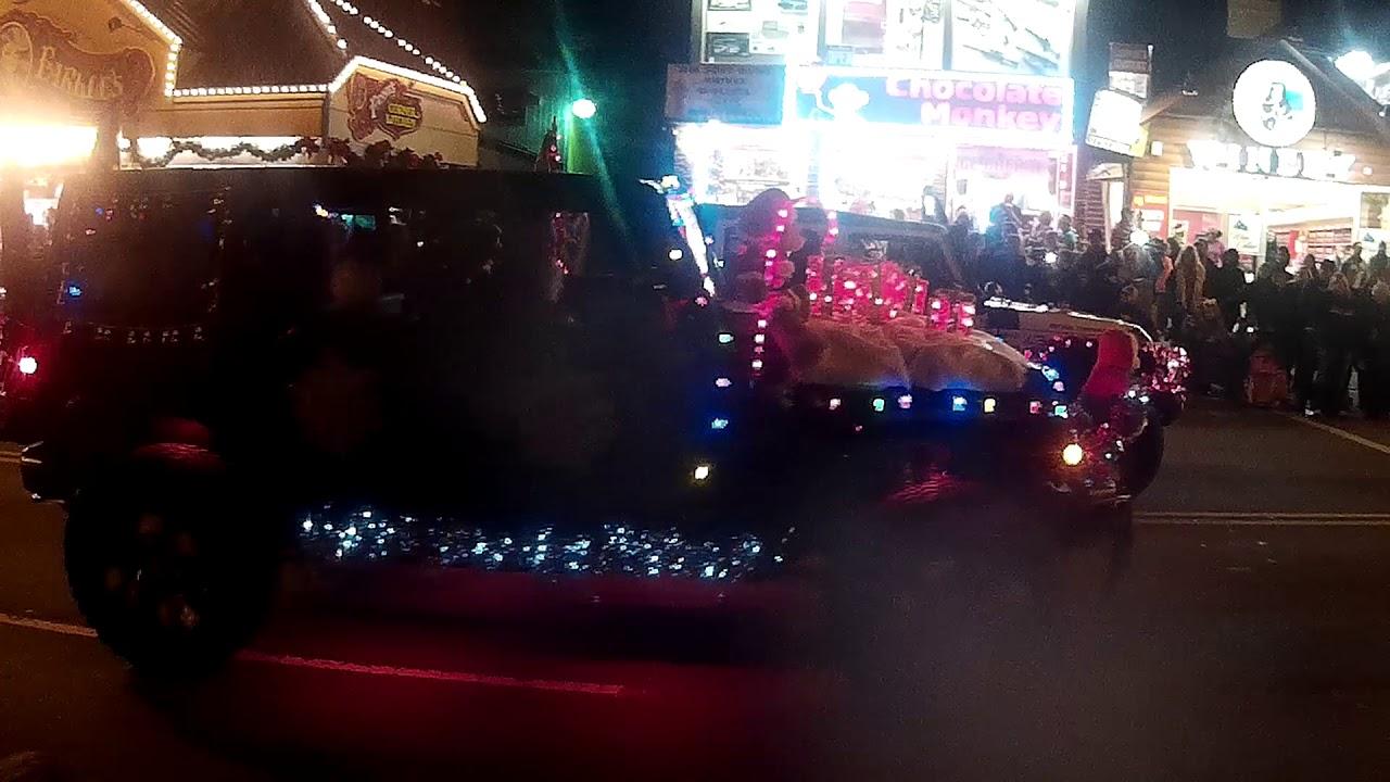 Gatlinburg Christmas Parade 2017 Part 2