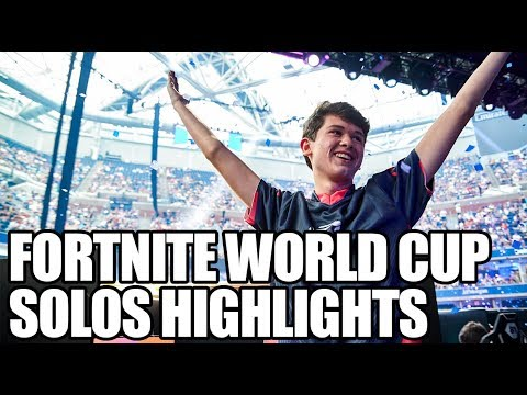 Fortnite World Cup Solos Highlights | ESPN Esports