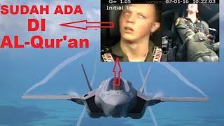 ALLAHHUAKBAR !!! BANYAK YANG TIDAK SADAR !!! benar sistem pesawat telah tertulis di Al-Qur'an