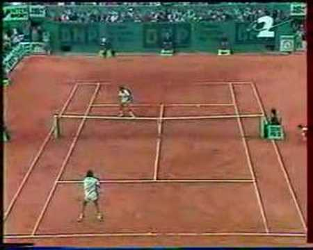 Leconte Wilander French Open 1988 Youtube