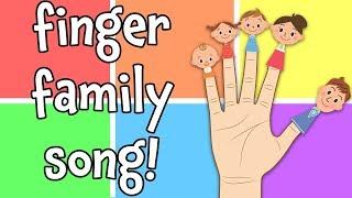 The Finger Family - Best Nursery Rhyme Song for Kids!