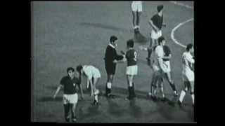 ITALIA-Jugoslavia 2-0 - Roma, 10 giugno 1968 - Finale Campionato Europeo (telecronaca primo tempo)