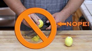 How to Properly Zest A Lemon & Other Citrus Fruit