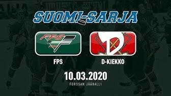 SUOMI-SARJA PLAYOFFS 2019-2020: 10.03.2020 FPS - D-Kiekko 3-4