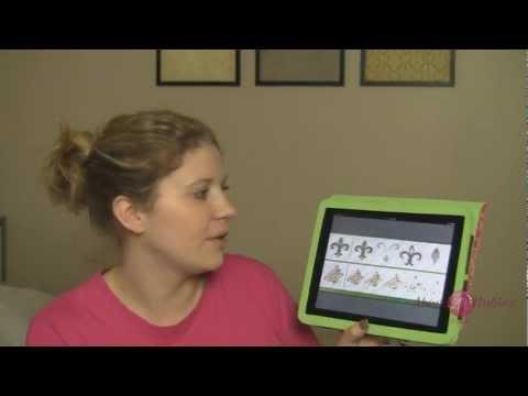 Loading Cricut Cartridge Handbooks on iPad - TNT Eps 005: AboveRubiesStudio