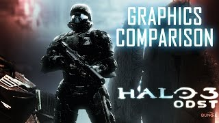 Halo 3: ODST Graphics Comparison (Xbox One vs Xbox 360) Master Chief Collection