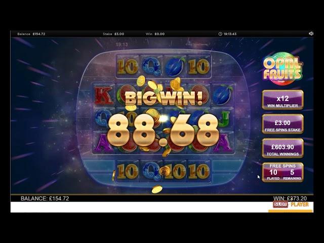 Opal Fruits Big Win   Big Time Gaming   CasinoCasino