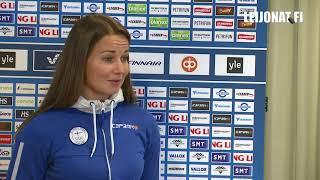 """Naisleijonien Susanna Tapani: """"Urheilija-apuraha mahdollistaa laadukaamman treenaamisen"""""""