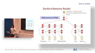Danqi Chen: From Reading Comprehension to Open-Domain Question Answering