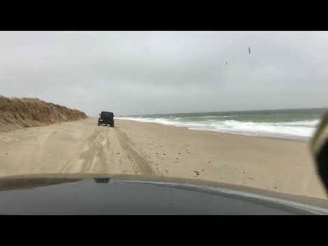 Complete Beach Drive to Great Point, Nantucket, MA