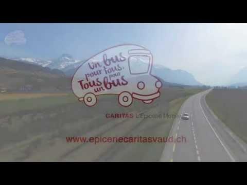 Epicerie mobile Caritas Vaud