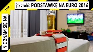 Jak zrobić podstawkę pod piwo na Euro 2016