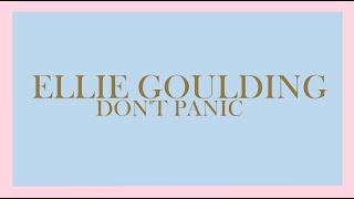 Ellie Goulding - Don't Panic (Audio)