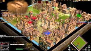 Age of mythology the TITANS 1v1v1 Tiny match
