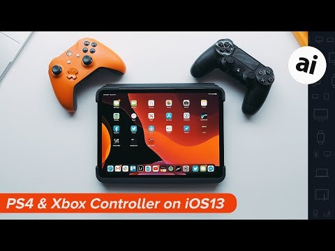 How-to: Connect a PS4 and Xbox Controller on iOS 13!