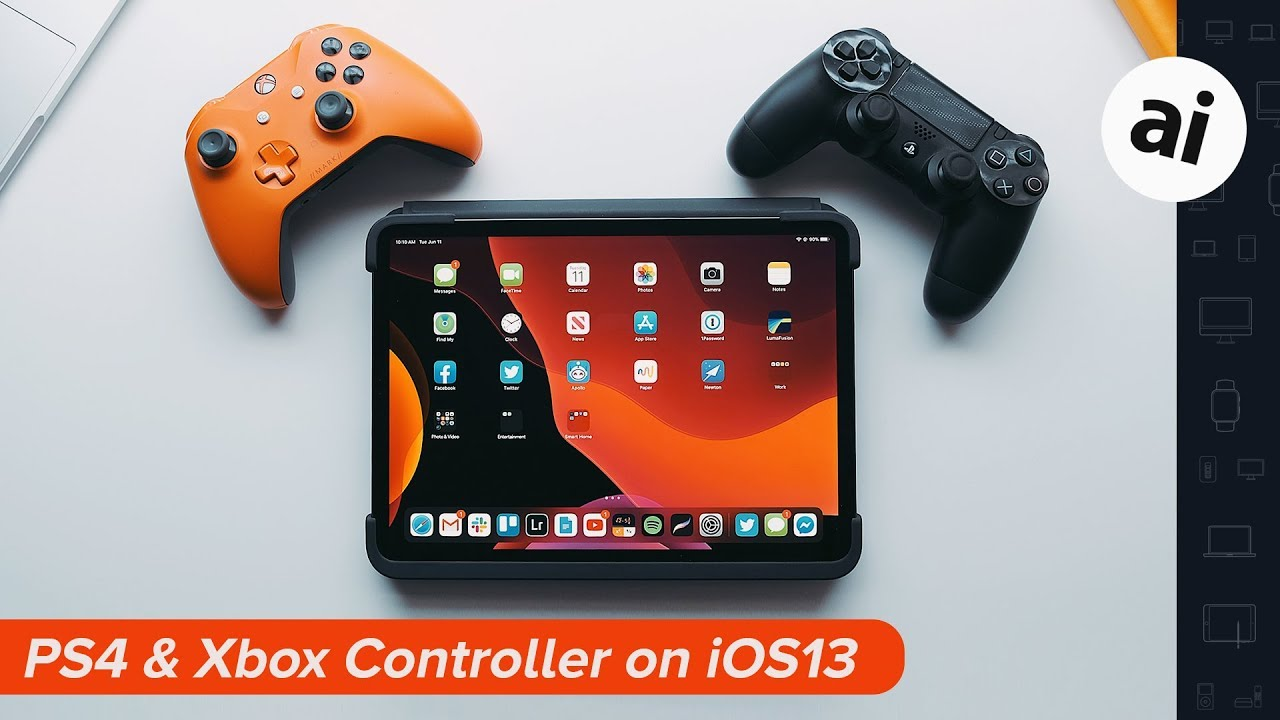 How To Connect A Ps4 And Xbox Controller On Ios 13 Youtube