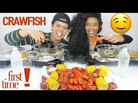 Seafood Boil Mukbang - CRAWFISH, MUSSELS, CLAMS EATING SHOW!