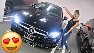I BOUGHT MY FIRST CAR!!! 2018 CONVERTIBLE MERCEDES BENZ