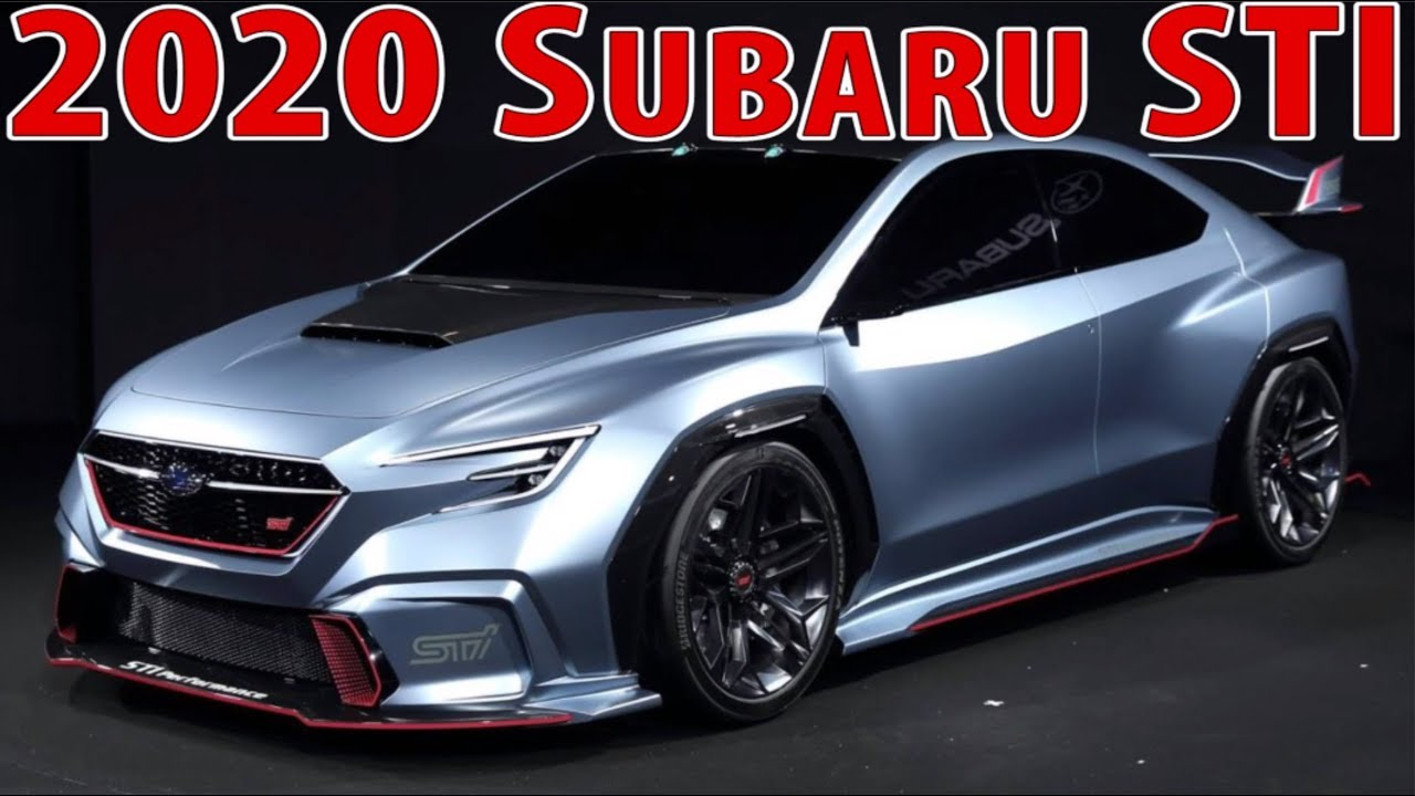 2020 Subaru Wrx Sti Everything You Need To Know