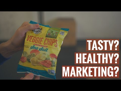 Are Veggie Chips Healthy or Tasty? Is it all Marketing? My Review.