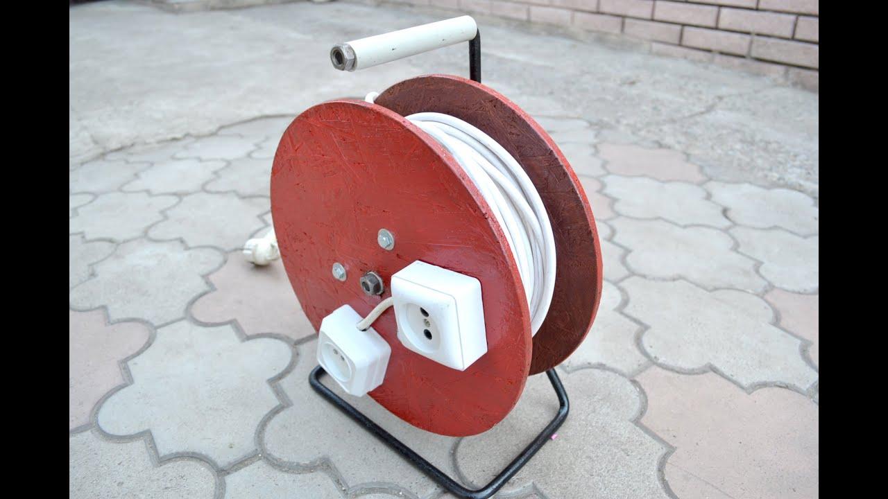 Катушка для провода своими руками фото
