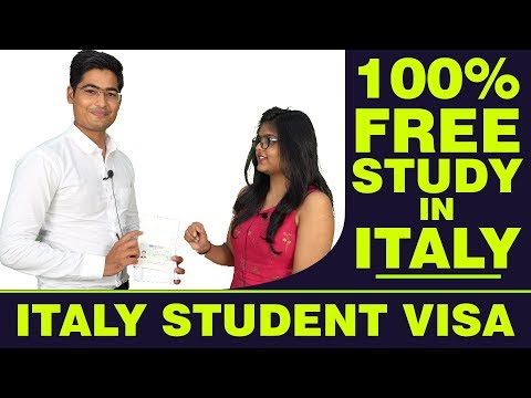 Study In Italy | 100% Scholarships | Free Study Abroad | Italy Student Visa | Indian Student