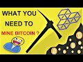 Bitcoin mining- Best bitcoin miners you can try with your PC & Make money