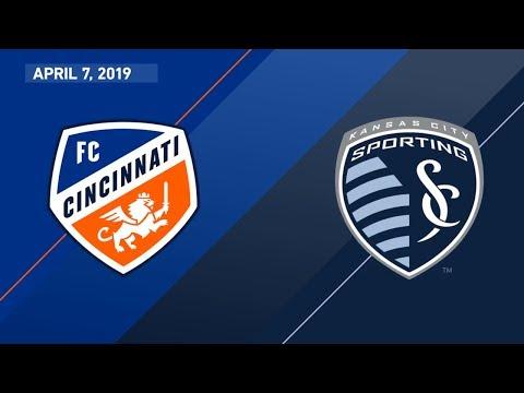 FC Cincinnati Vs. Sporting Kansas City | HIGHLIGHTS - April 7, 2019