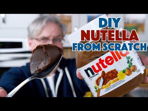 DIY Nutella Recipe Crema Di Gianduja Ricetta & Taste Off!    Glen & Friends Cooking