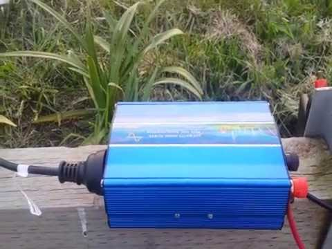 300w Pure Sine Wave Inverter Portable Power Test