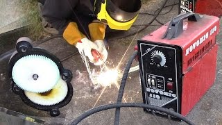 Fixing uneven wire feed on a REALLY cheap MIG welder
