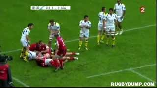 Rugby in Europe 2012 2013 round 01 Clermont Scarlets