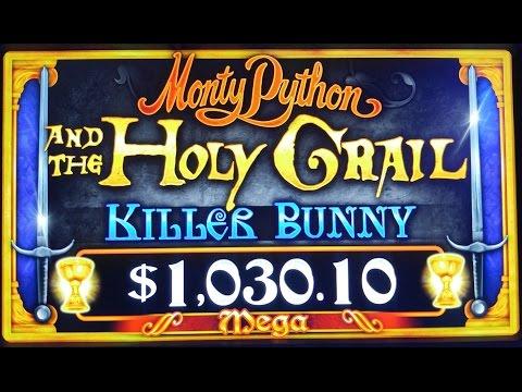 NEW SLOT! MONTY PYTHON & THE HOLY GRAIL KILLER BUNNY & BLACK KNIGHT