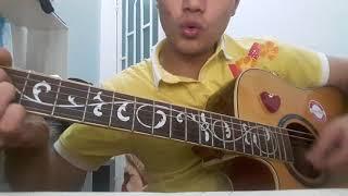 HƯỚNG DẪN GUITAR - Giấc Mơ Nhỏ Xinh - Đinh Mạnh Ninh