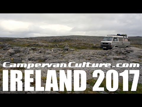 The West Coast Of Ireland In A VW T25 / T3 / Vanagon Westfalia