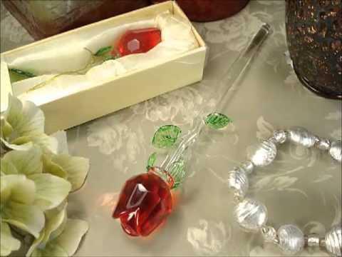 Recuerdos para bodas rosa de cristal youtube - Recuerdos de bodas para invitados ...