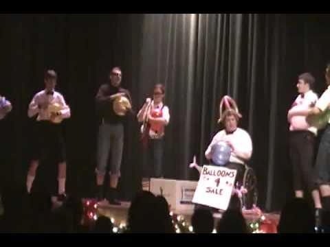 Auburn High School 'Balloon Band'