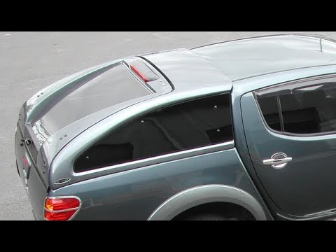 Mitsubishi L200 Carryboy Supersports Truck Top 4x4 Canopy Youtube