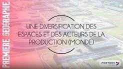 PREMIERE : Une diversification des espaces et des acteurs de la production (monde)